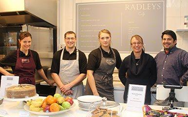 Radleys Cafe…